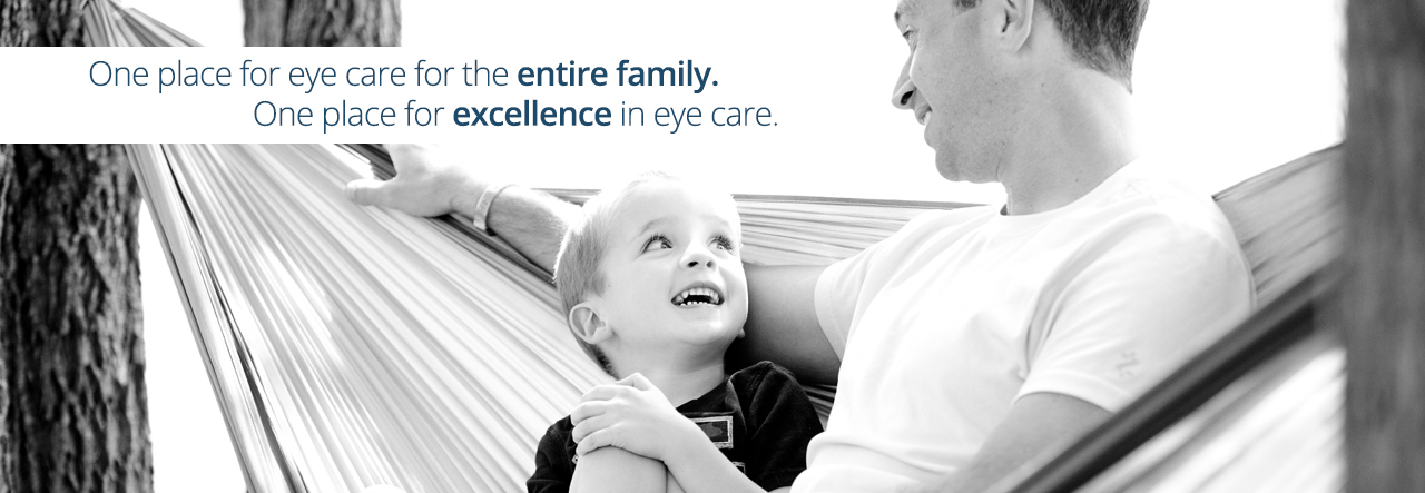 Father and Child—Excellence in eye care slide