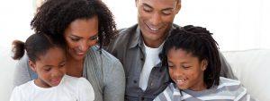 Happy Family Reading Book 1280×480