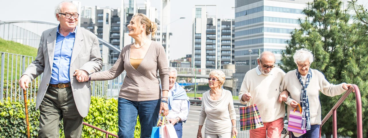 Group of Seniors Walking 1280x480