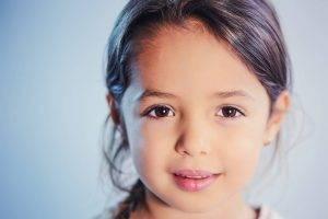 Female Child Brown Eyes