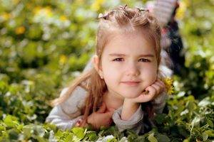 Female Child Green Leaves in Colorado Springs | Executive Eyes