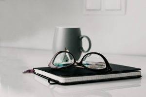 Glasses Notebook Mug 1280x853