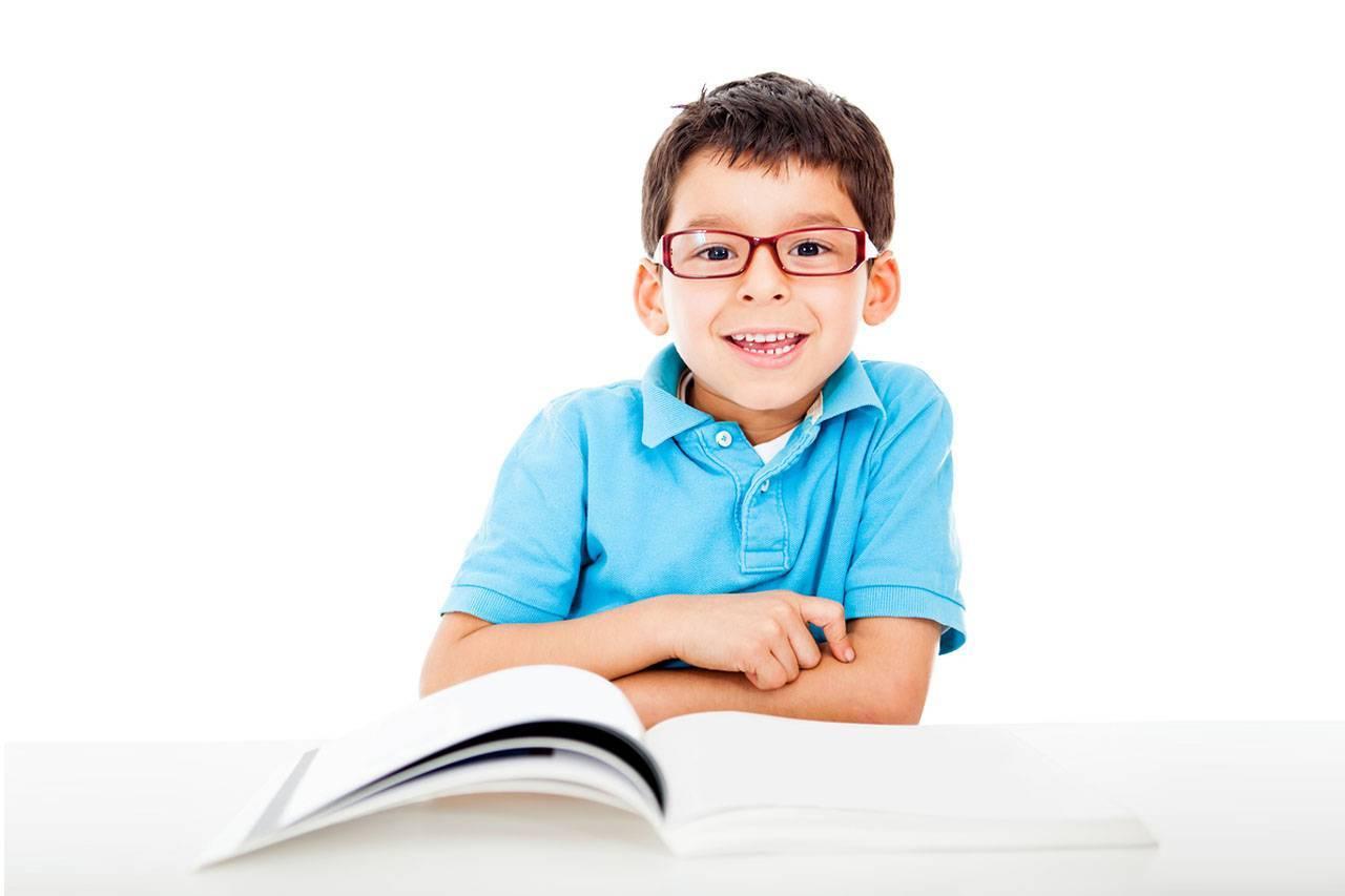 latino boy reading