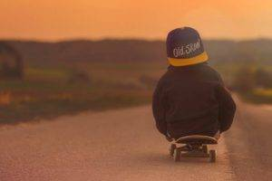 boy on skate