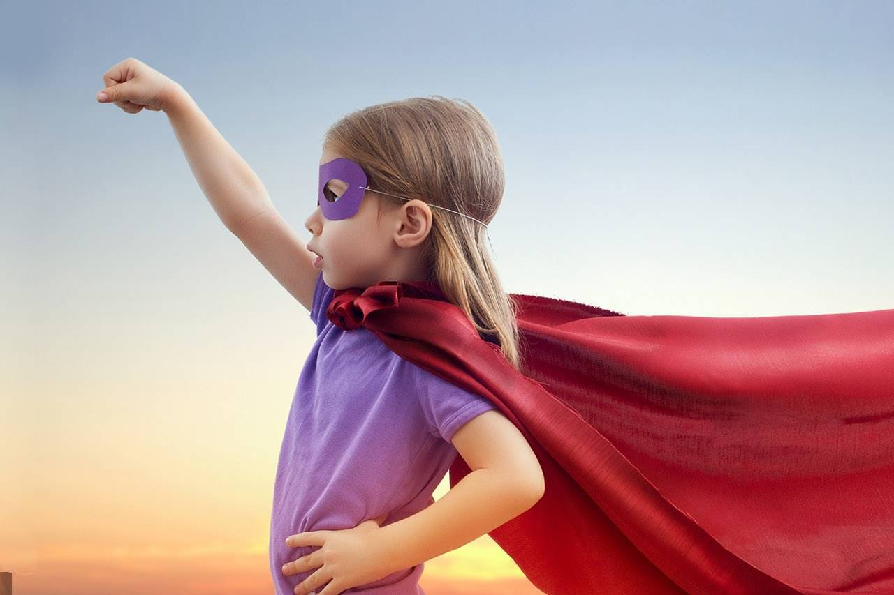 child supergirl eyemask