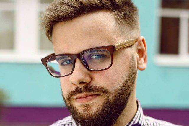 eyeglasses male hipster head 640x427