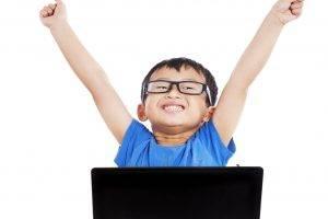 technology boy asian hands up | Nerf Guns & Eye Safety in Coronado, CA