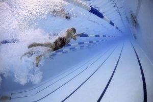 Sport laneswim underwater bkground sm