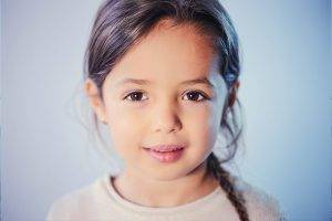 Child Girl Brown Eyes Nob Hill