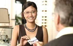 Woman with eyeglasses Irvine CA