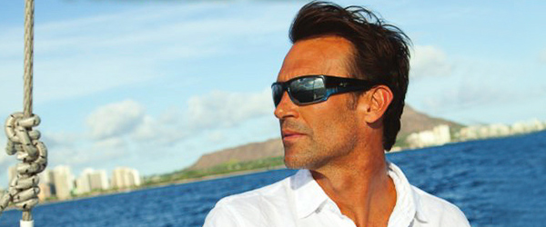 Man wearing Maui Jim sunglasses