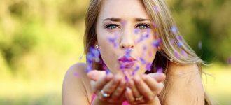 Female Blowing Purple Flowers 1280x480 1 330x150