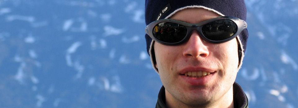 ski man
