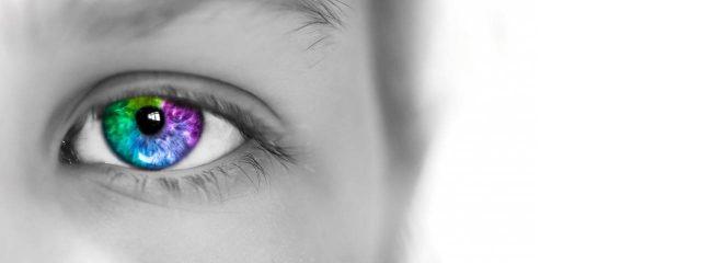 Colorful Eye Grey Photo 1280x480
