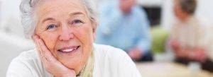 senior woman cataracts