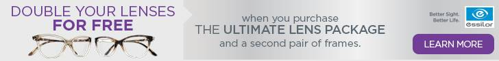 Ultimate Lens Package at Advanced Eye Care Center