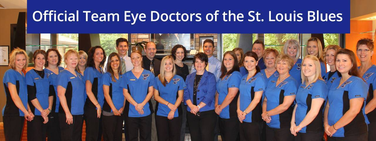 official team eye doctors of the St. Louis Blues