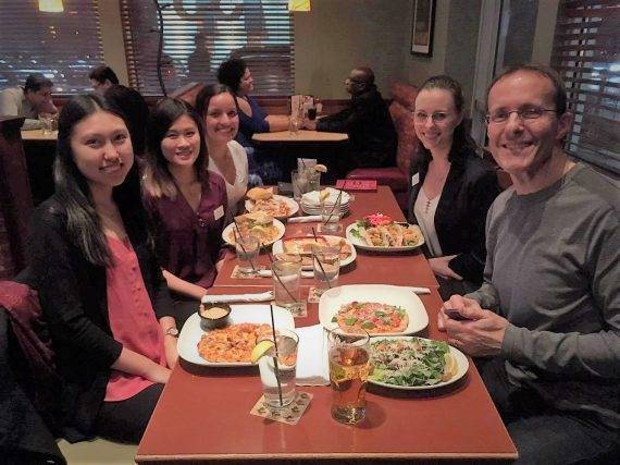 Dr. Banducci mentors CAOS students in Mississauga
