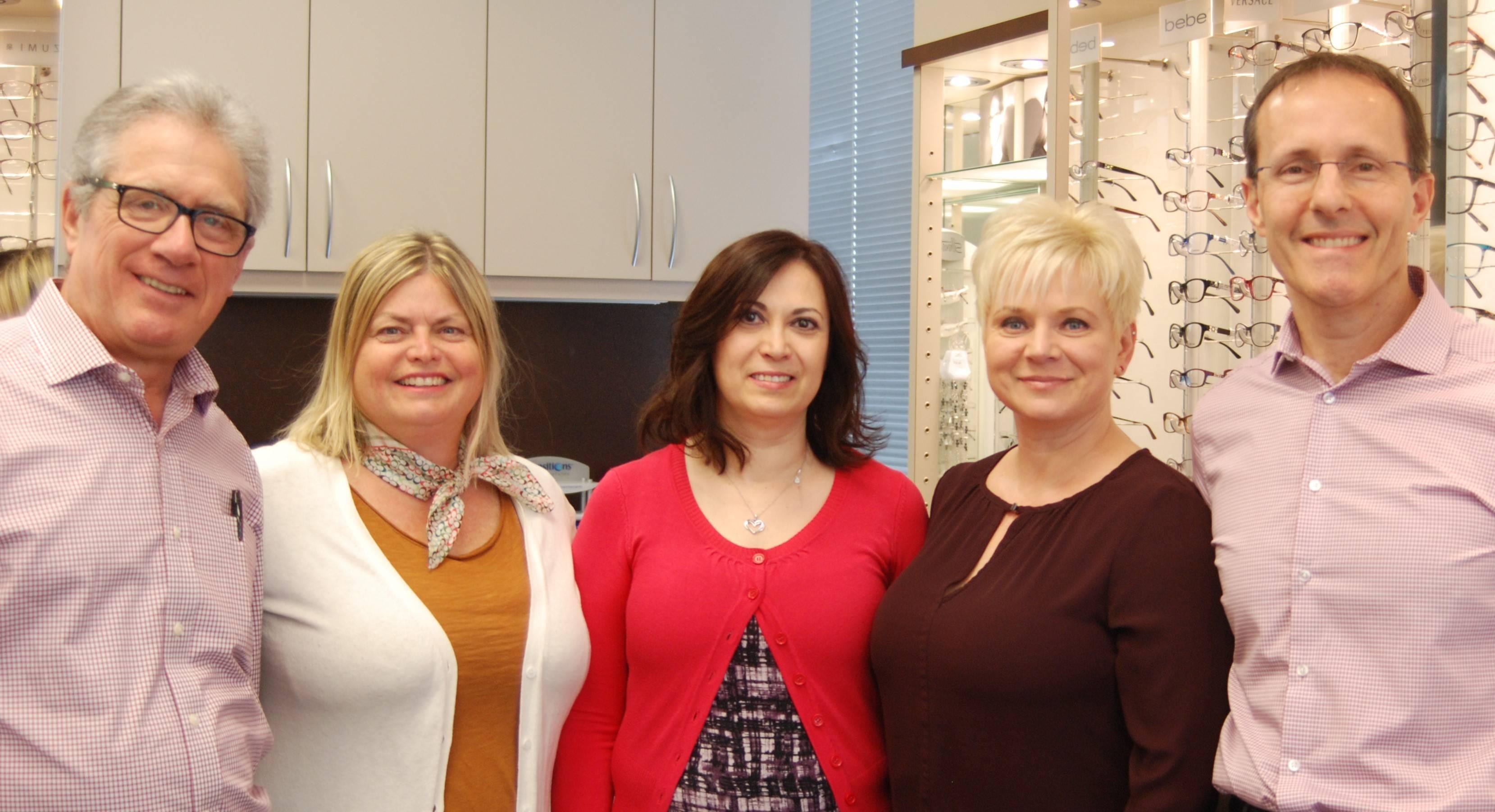 Mississauga Optometrists and Eye Care Team