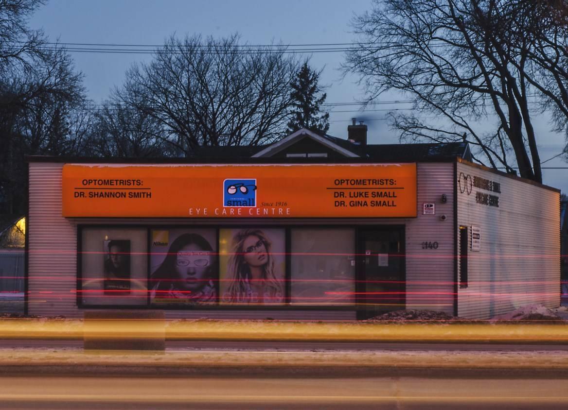 eye care center Downtown Winnipeg