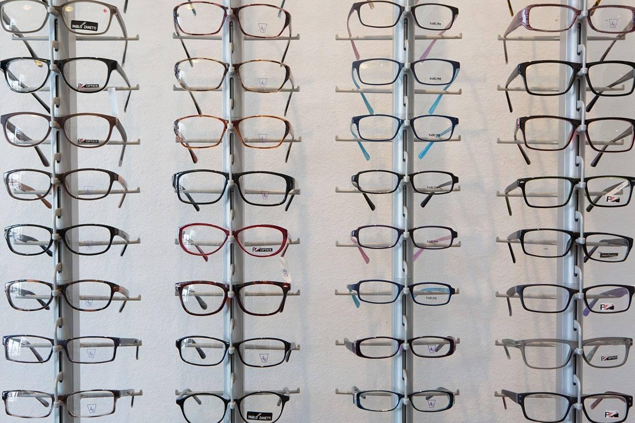 glasses-wall-display