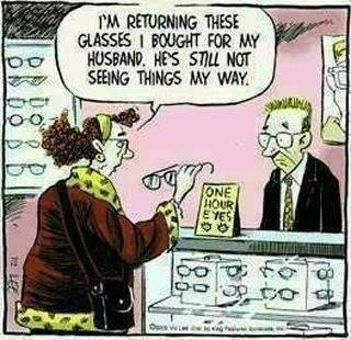 Eye joke