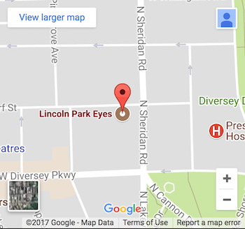 Lincoln Park Eyes Map Screenshot