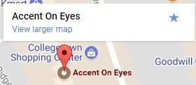 AccentOnEyes Map