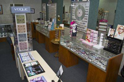 Our large selection of glasses and designer frames.