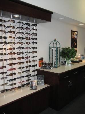 Eyewear and sunglass display in Maple Grove MN