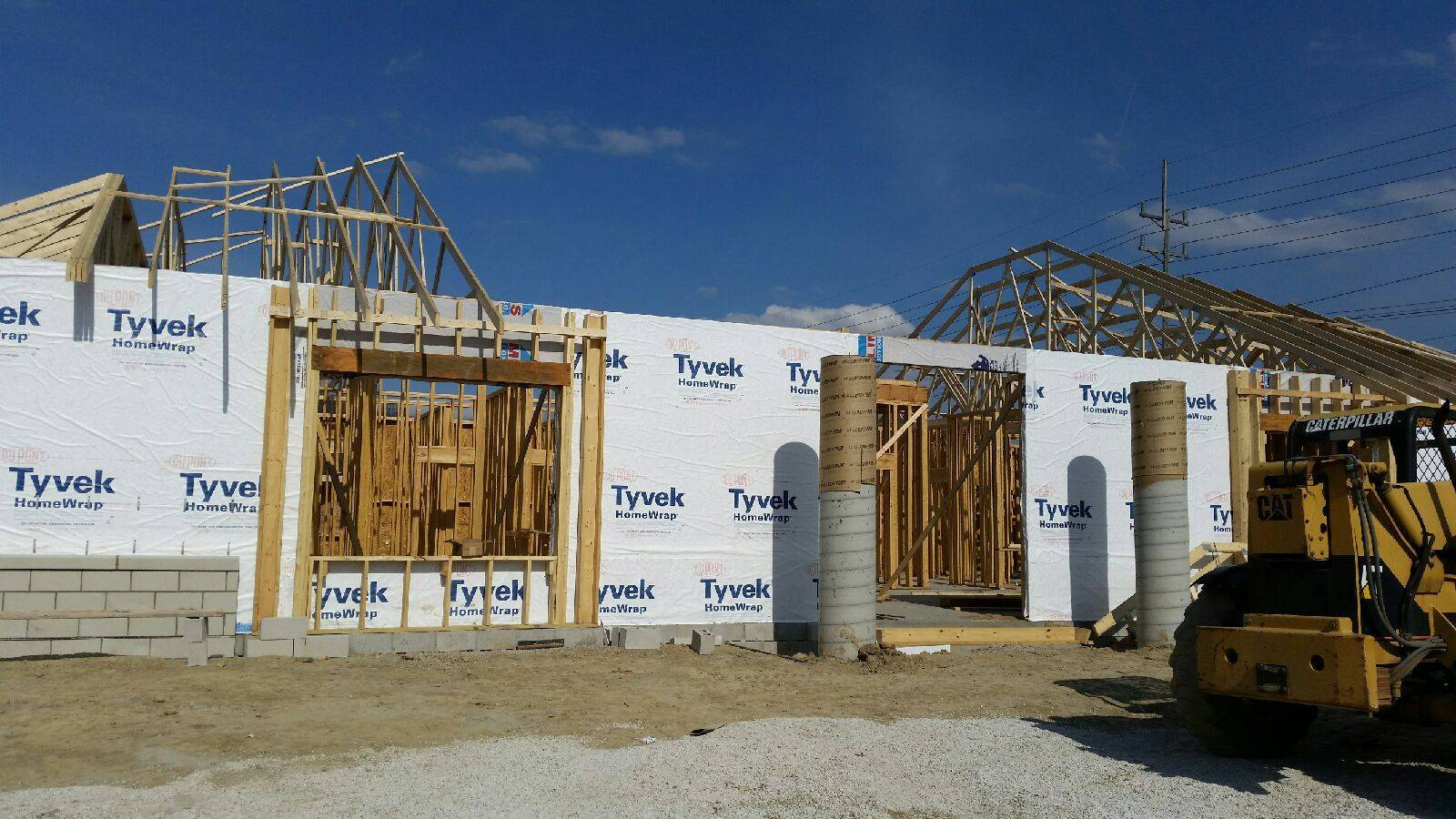 Walls are UP!