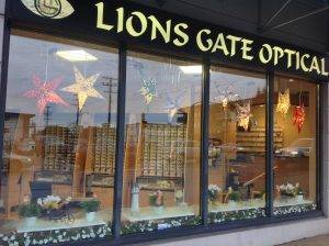 Lions Gate Optometry & Optical Exterior in North Vancouver BC