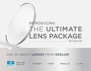 Essilor ultimate lens package, optometrist, Lantana, FL