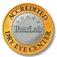 TearLab Accredited Dry Eye Center in Katy, TX