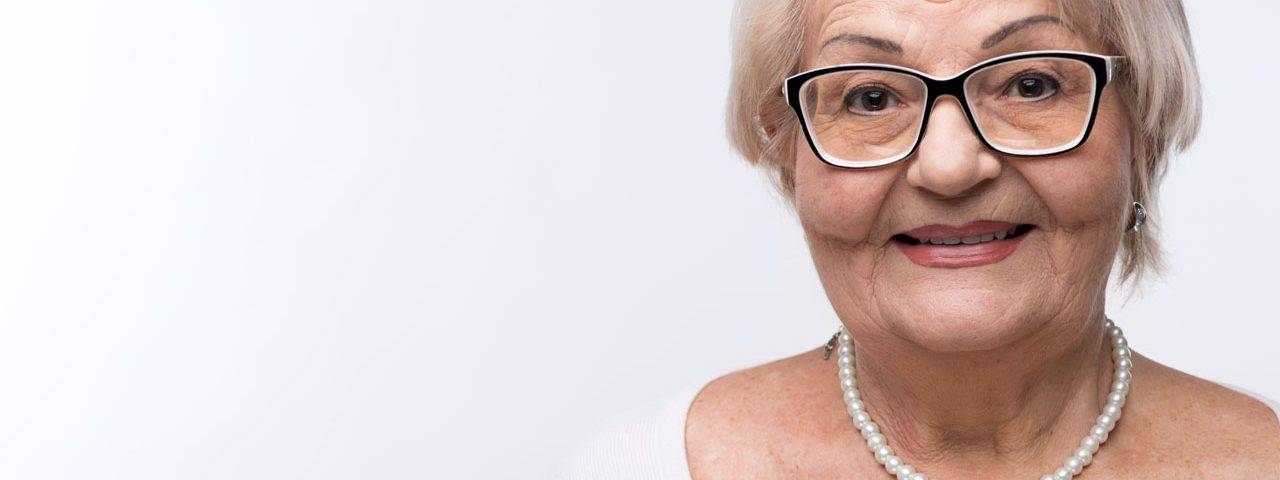 glasses senior woman portrait 1280x480