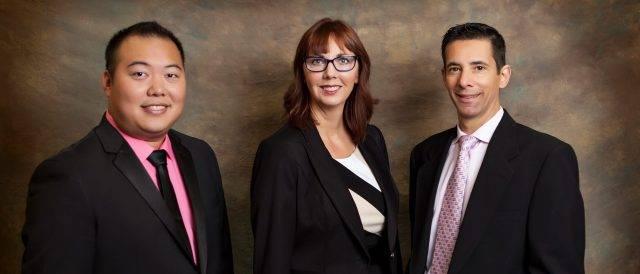 Dr Kong, Dr Friedman and Dr. Friedman