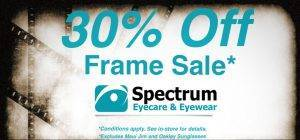 January 2017 frame sale banner