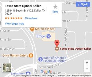 Texas State Optical Keller