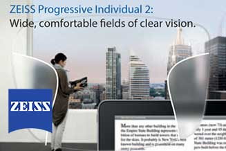 zeiss progressive individual 2 houston tx