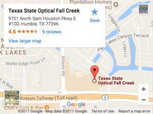 Texas State Optical Fall Creek