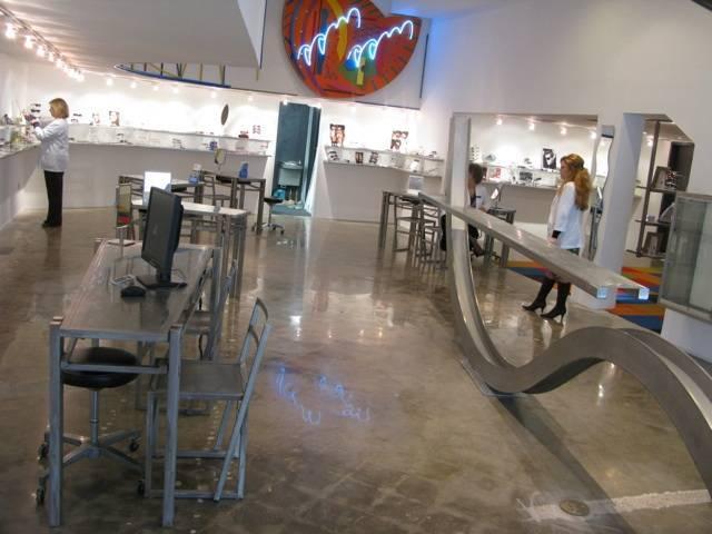 eyeglasses showroom at Galveston TSO