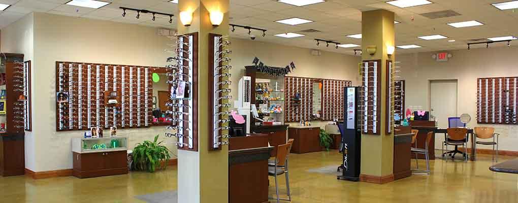 Eyeglasses & Contact Lenses at TSO San Marcos