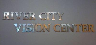 River City Vision Center logo for optometrist in Jacksonville, FL