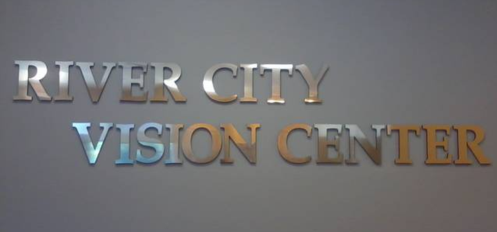 River City Vision Center logo for optometrist in Jacksonville, FL