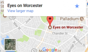 Eyes on Worcester Map