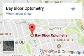 Bay Bloor Map