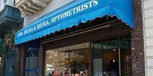 exterior of Drs Hiura and Hiura Optometrists in San Francisco