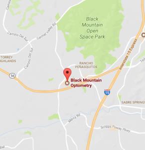 black mountain optometry google map image