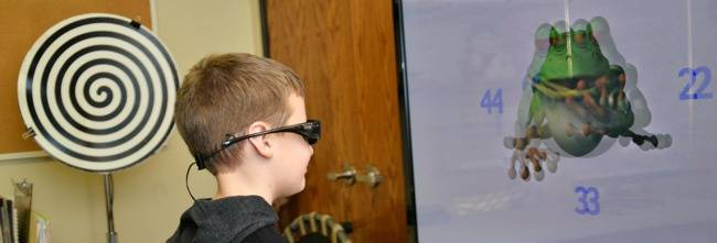 vision therapy for double vision
