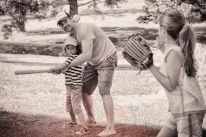 Coleman Vision - Playing baseball